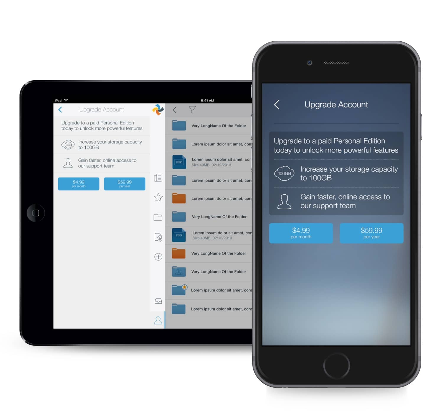 Syncplicity Mobile Upgrade