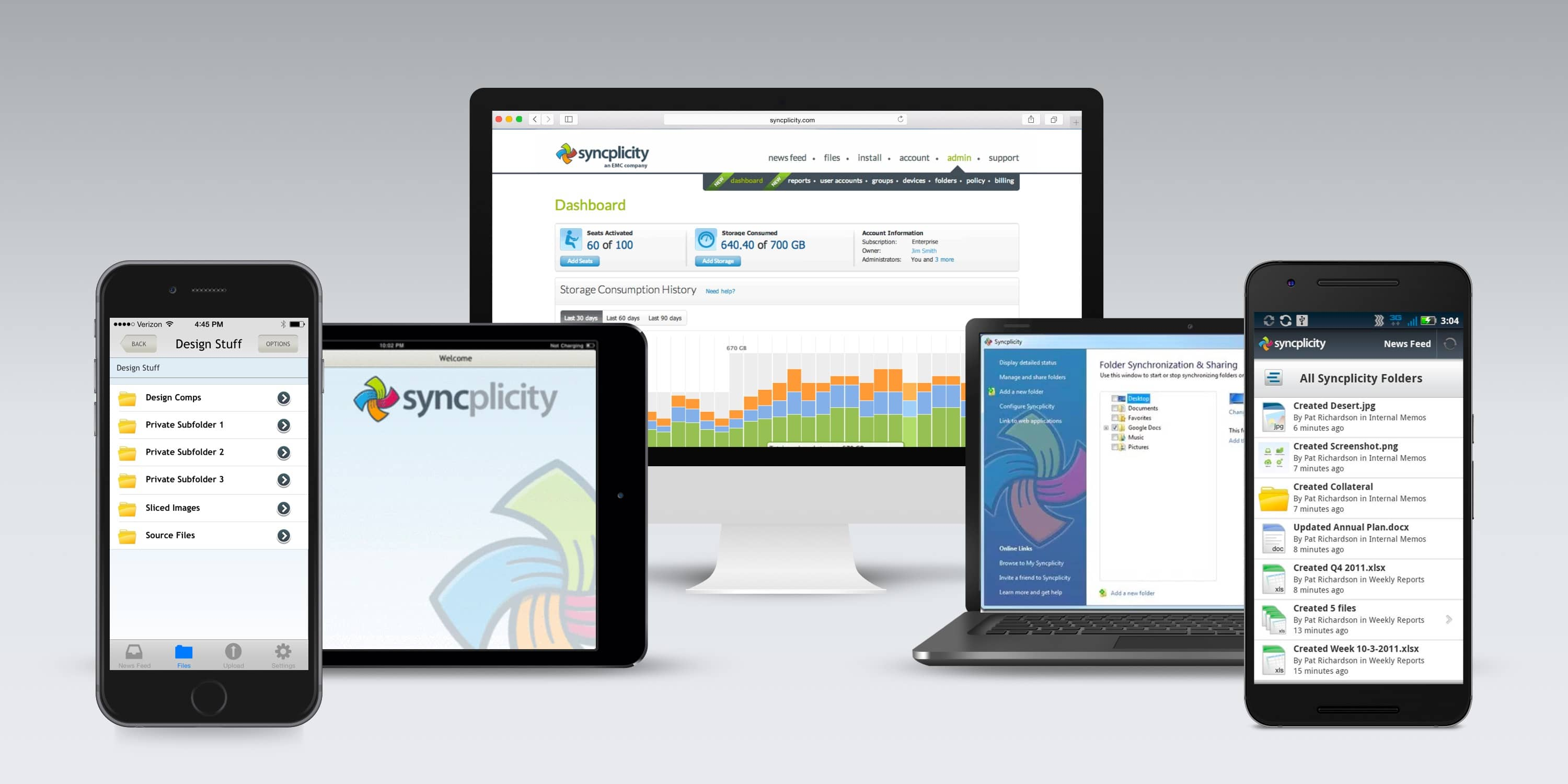 Syncplicity Old Platform